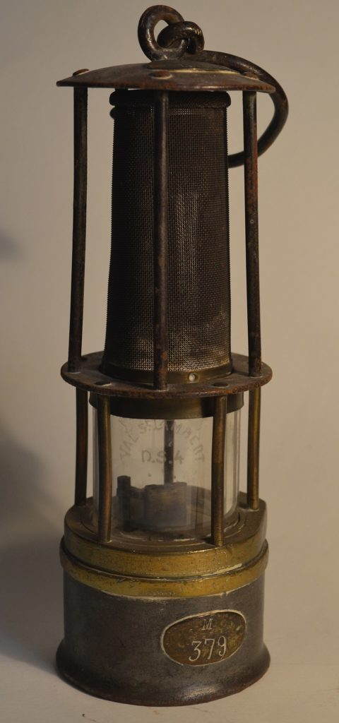 lampe de sureté dispositifs de sécurité
