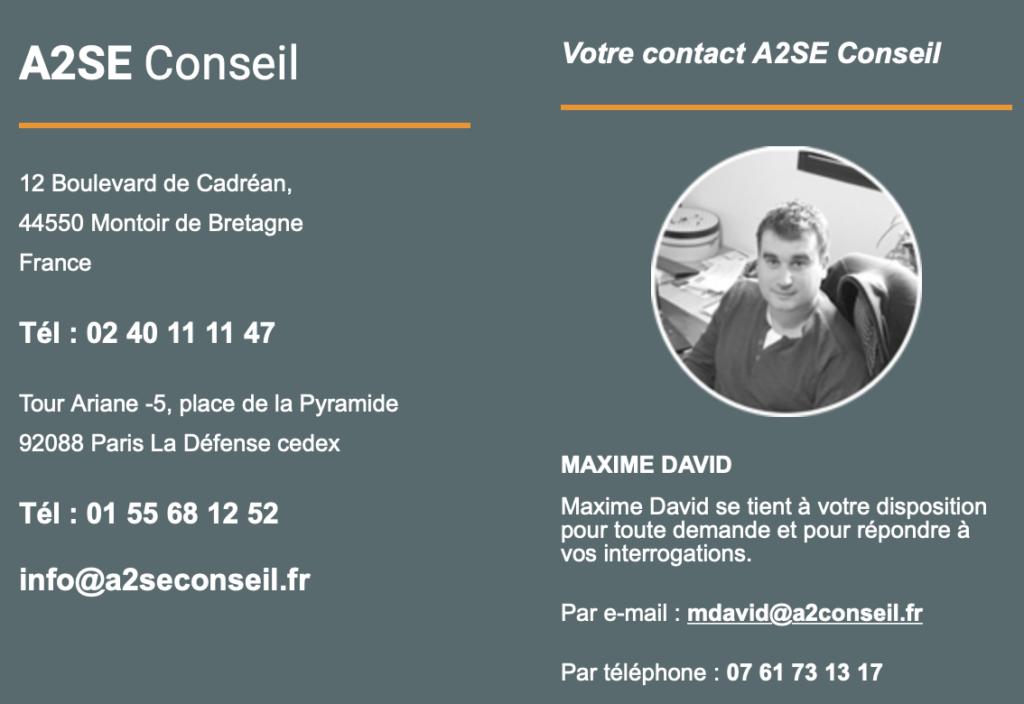 Maxime David - A2SE Conseil
